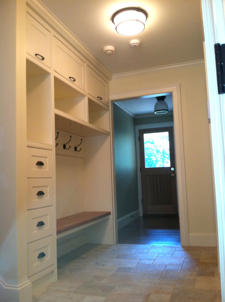 Mudroom - Construction: Arthur J Stevens, Design:  J Fritjofson Interiors