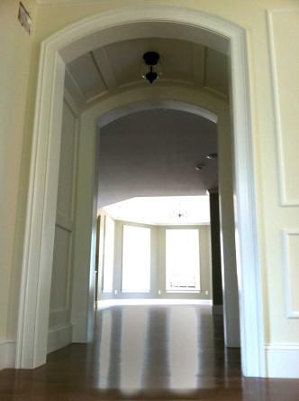 Arched Hallway - Construction: Arthur J Stevens