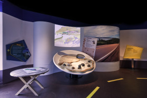 """Bay of Fundy Museum - """"Rock Soup"""" - Concept: Experience Design, Details and Construction: Arthur J Stevens, Technical: Jim Booth, Photo by Lawrence Nicoll"""